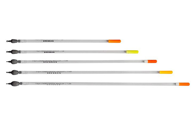 New Loaded Fishing Crystal Waggler Floats 5 Different Sizes